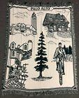 "Vintage 64"" Historic Palo Alto California Silicon Valley Woven Tapestry Throw"
