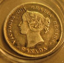 1900 Canada 5 Cents 5c Coin.