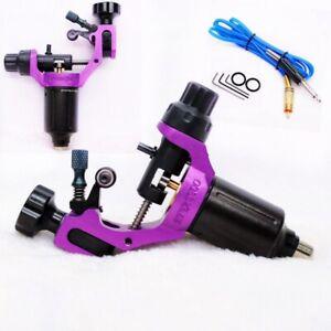HUMMINGBIRD Aluminum Rotary Tattoo Machine RCA Liner Shader Supply Ink Purple