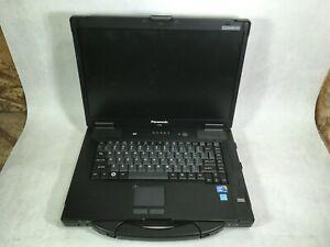 """Panasonic Toughbook CF-52 14"""" Laptop Intel Core i3 1st Gen - PARTS -RR"""