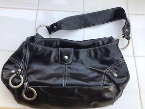 Unbranded Shiny Back Patent Handbag