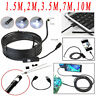 5.5mm Android Endoscope Waterproof Snake Borescope USB Inspection Camera 6 LED W
