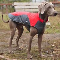 Winter Dog Clothes Waterproof Fleece Lined Coat Reflective Jacket Labrador S-5XL