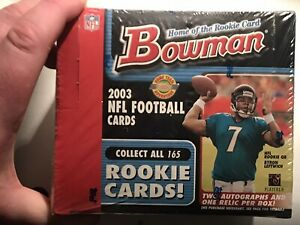 2003 Bowman Hobby JUMBO Factory Sealed Box 10 packs of 35 cards Polamalu Brady