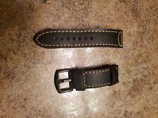 Lum Tec 24mm Leather Watch Strap