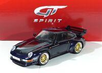 Porsche 911 GT (993) darkblue 1.500 pcs. GT144 GTSpirit 1:18 Neu