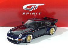Porsche 911 Gt (993) Azul Oscuro 1.500 Pzs. GT144 Gtspirit 1:18 Nuevo