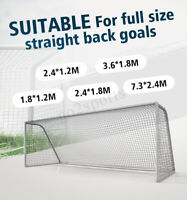 6-24ft Football Soccer Goal Post Nets For Sport Training Match Replace