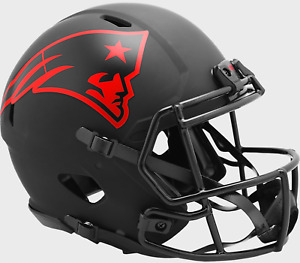 NEW ENGLAND PATRIOTS NFL Riddell SPEED Authentic Football Helmet ECLIPSE