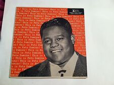 RARE - FATS DOMINO - THIS IS FATS DOMINO!  LP  9028  (ORIGINAL PRESSING)    VG++
