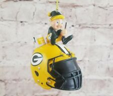 Green Bay Packers Helmet Elf Ornament NFL (E1)