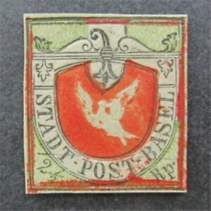 nystamps Switzerland Stamp # 3L1 Mint NGAI $6000 As Is Proof?   A9y1046
