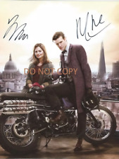 DR WHO - HAND SIGNED PHOTO WITH COA - SMITH AND COLEMAN RARE AUTOGRAPHED PHOTO