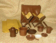 1972 Barbie Outdoor Camp-Out #4288 Brown Gear Accessories