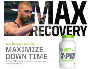 MusclePharm Z-PM NighttimeTest Booster nite optimum Z-Core pm burn zma FREE POST