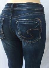 4e483616 NEW Silver Jeans SUKI super Skinny Mid Rise Good Price 90221A