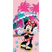 Drap de plage ou drap de bain Minnie