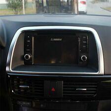 For Mazda CX-5 CX5 2013-2015 Interior Accessories Centre Console GPS Frame Cover