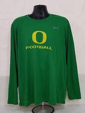 NEW Oregon DUCKS Football TEAM ISSUED Nike Dri-Fit LONG SLEEVE SHIRT  Men's XXL