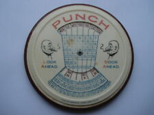 SCARCE1925-1936 PUNCH LOOK AHEAD BOOK AHEAD ADV DESK CALENDAR MIRROR/PAPERWEIGHT