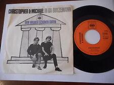 "Christopher & Michael BI BA butzemann 7"" CBS RARE 60s single"