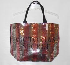 Victoria's Secret Bling Sequin Black Friday 2015 Tote Handbag + Body Care NWT