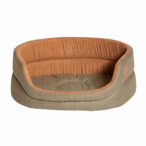 Danish Design Tweed Slumber Pet Accessory Bed - Green All Sizes