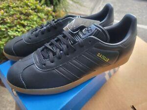 Adidas Originals Gazelle 'Black Gum' Sneakers - NEW Men's Size 10