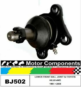 BALL JOINT FRONT LOWER for TOYOTA HILUX 4WD 1981 > 2005