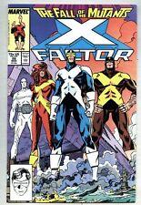 X-Factor #26-1988 vf X-Men X Men Fall Of The Mutants Walt Simonson