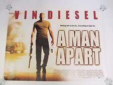 A Man Apart movie poster - Vin Diesel - original uk quad poster - 30 x 40 inches