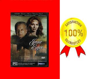 VERY GOOD DVD JANE EYRE  GEORGE C.SCOTT  SUSANNAH YORK THE DARK SECRET*