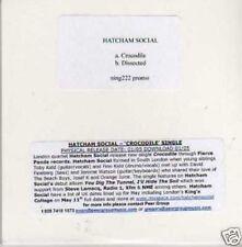 (679I) Hatcham Social, Crocodile / Dissected - DJ CD