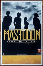 MASTODON The Hunter Ltd Ed Discontinued New RARE Tour Poster +FREE Metal Poster