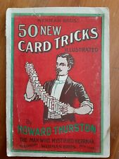Wehrman Bros. - 50 New Card Tricks Illustrated - Howard Thurston - c.1905
