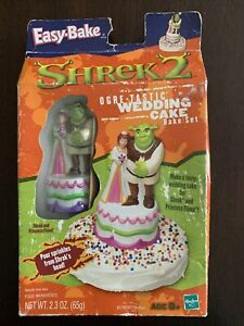 Easy-Bake Oven Shrek 2 Ogre-Tastic Wedding Cake Bake Set New & Sealed 2004