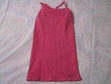 NIKE WOMEN,S ATHLETIC TRAINING TOP X-SMALL PINK & WHITE NEW WITH TAGS