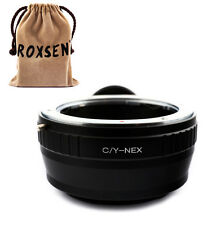 Contax Yashica C/Y mount Lens to Sony E NEX Tripod Adapter A7 A7R NEX-5T A5100