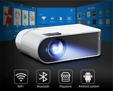 Led Projector HD WiFi/Bluetooth Android 6.0 Home Cinema 1080P Video Projector
