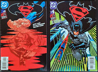 Superman/Batman (2003) #1 & 2 VF+ Loeb McGuinness DC Comics
