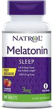 Natrol USA MELAT0NIX 3 mg Fast Dissolve - 90 veg. Tabl.-  für 3 Monate