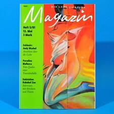 Das Magazin 5/1991   Akt Erotik   Andy Warhol Paradies Mallorca Bahnhof Zoo