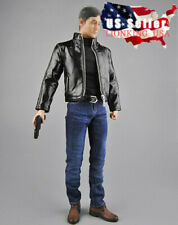 "1/6 Agent Jacket Jeans Set For 12"" Hot Toys PHICEN Worldbox Male Figure ❶USA❶"