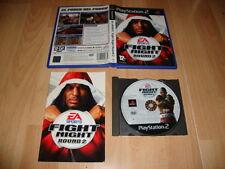 FIGHT NIGHT ROUND 2 JUEGO DE BOXEO DE EA SPORTS PARA LA SONY PS2 USADO COMPLETO
