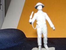 # 21 ROYAL MARINE OFFICER, BATTLEDRESS  , 54mm white metal figure Hinton Hunt