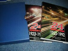 24 heures du mans 1923 1992 2 volumes moity bienvenu teissedre signé gt 40 alpine