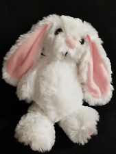 "Plush White Easter Lop Ear Bunny New with NoTags 11"" tall Minky So Very Soft"