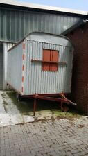 Bauwagen,  Baubude, 1-Achser   3,50 m x 2,20 m