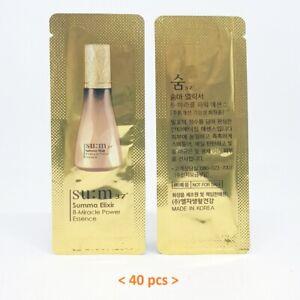 SU:M37 Summa Elixir 8-Miracle Power Essence 1ml x 40pcs Anti-Aging K-Beauty