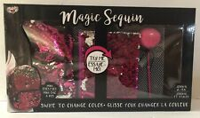 New Magic Sequin Gift Set Mini Backpack, Journal And Pen
